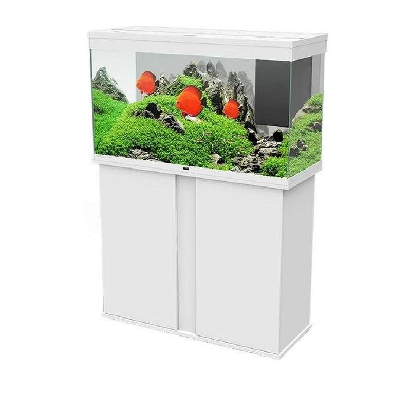 aquarium kombination emotions pro 100 led weiss chf. Black Bedroom Furniture Sets. Home Design Ideas