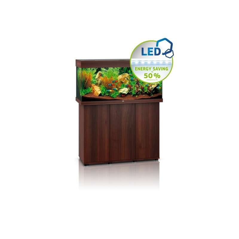 juwel komplett aquarium rio 180 led dunkles holz inkl unterschrank. Black Bedroom Furniture Sets. Home Design Ideas