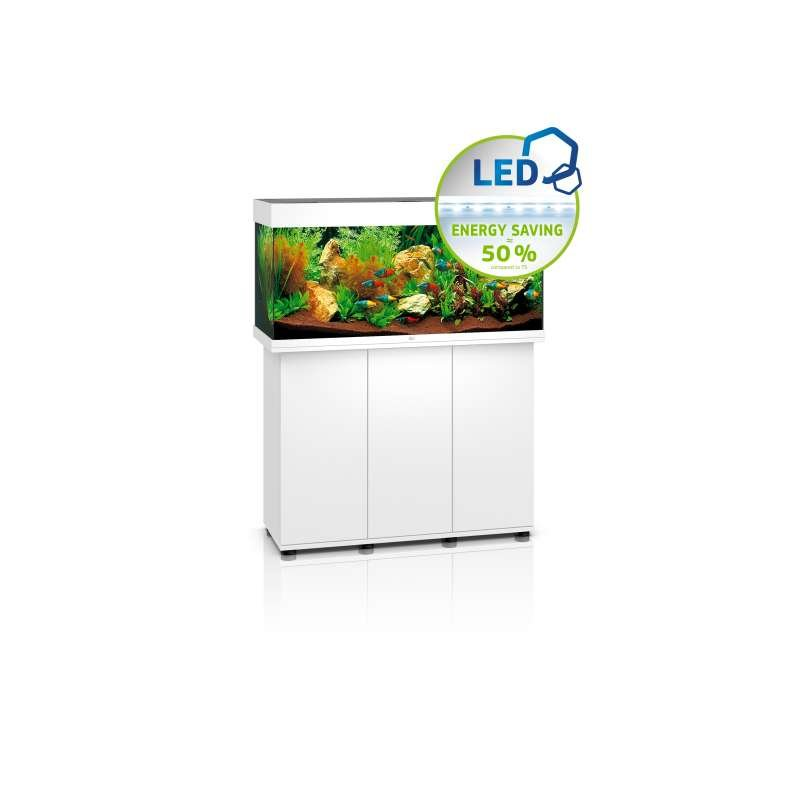 juwel komplett aquarium rio 180 led weiss inkl unterschrank 549 0. Black Bedroom Furniture Sets. Home Design Ideas