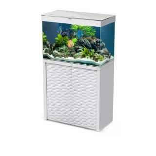 Aquarium-Kombination Emotions Nature One 100 weiss - LED
