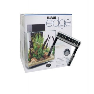 Fluval Nano Aquarium Edge 46L, LED, weiss