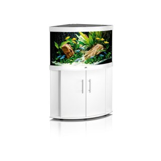 juwel komplett aquarium trigon 190 weiss inkl unterschrank c. Black Bedroom Furniture Sets. Home Design Ideas