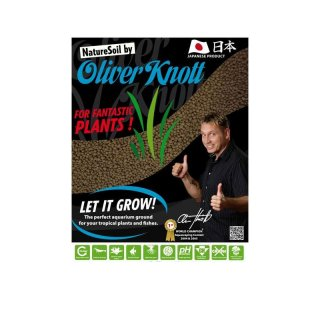 Oliver Knott Nature Soil 3 Liter - rehbraun - 2-3 mm