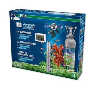 JBL ProFlora m2003 (Set CO2) 1000 l, Flasche CO2 2000 g