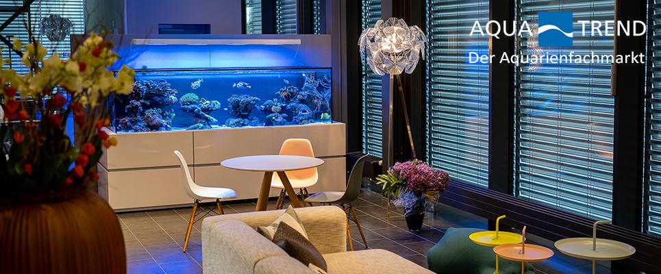 Wohnen mit Aquarien